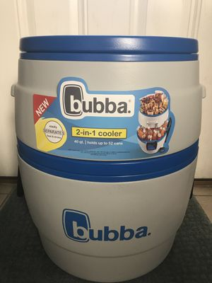 Coleman Bubba 2-in-1 Cooler 40qt for Sale in Romeoville, IL