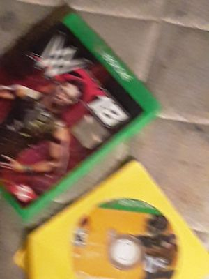 wwe 2k 18 and madden nfl19 for Sale in Tampa, FL