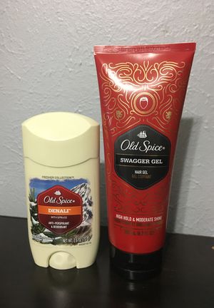 Old Spice Men's Bundle Deodorant and Hair Gel for Sale in Austin, TX