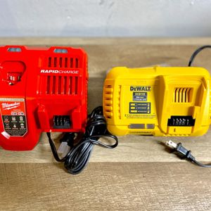 Fast Chargers DeWalt Milwaukee for Sale in Houston, TX