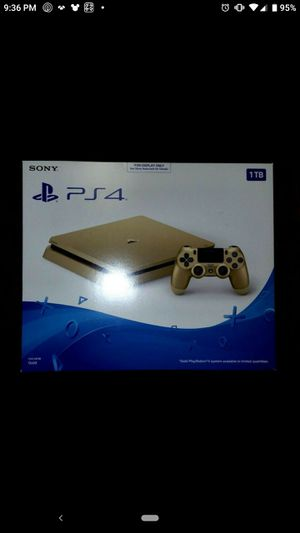 Limited Edition PlayStation 4 Gold 1TB System (not a PS4 pro) for Sale in Artesia, CA
