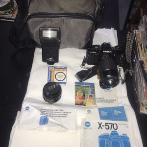 Minolta X 570 35 MM Film camera for Sale in Camden, SC