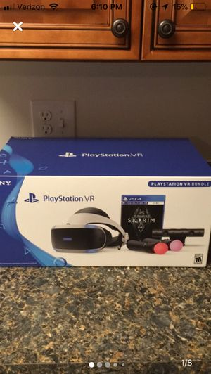 PS4 Headset, Charging Stand, Camera, Motion Controllers, and RE7 for Sale in Harrisonburg, VA