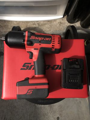Snap on 1/2 cordless impact for Sale in Elgin, IL