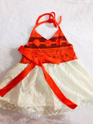 12mo, 2t, 3t and 4t Moana dress $20 each for Sale in National City, CA