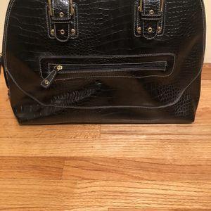 East 5th Black Crocodile Purse Tote Bag for Sale in Chicago, IL