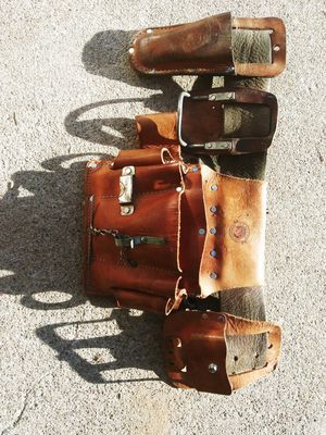 All Leather work tool belt for Sale in Avondale, AZ