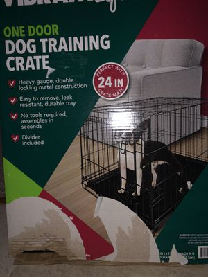 Dog Training Crate by Vibrant Life for Sale in Matawan, NJ