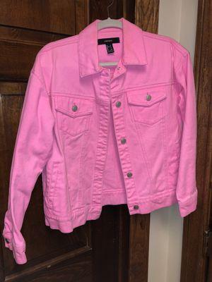 Forever 21 denim jacket for Sale in McAllen, TX