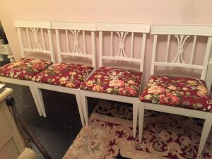 Set of shabby chic chairs for Sale in Elmsford, NY