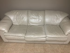 White couch for Sale in Jackson Township, NJ