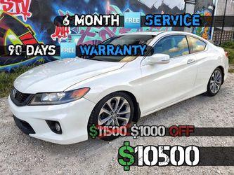 2015 Honda Accord EX-L Coupe 50k $10500 for Sale in Miami,  FL