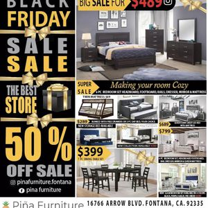 Black Friday Sale for Sale in Fontana, CA