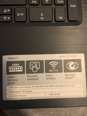 Acer lap top for Sale in Grand Rapids, MI