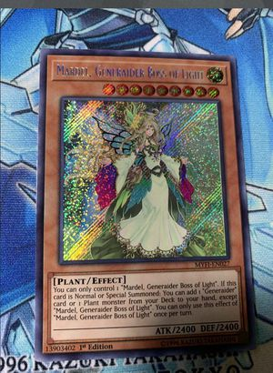 MARDEL, GENERAIDER BOSS OF LIGHT yugioh for Sale in Santa Maria, CA