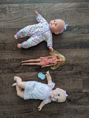 Baby doll Barbie for girl toy for Sale in Irving, TX