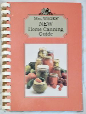 Home Canning Guide Book for Sale in Ripley, WV