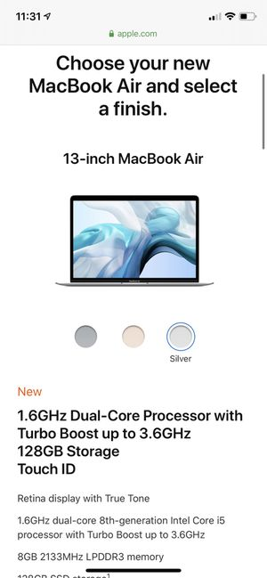 BRAND NEW MacBook Air 2019 for Sale in Beaverton, OR