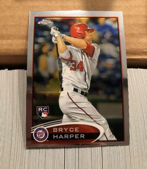 2012 Topps Chrome almost complete set Bryce Harper RC for Sale in Spring Valley, CA