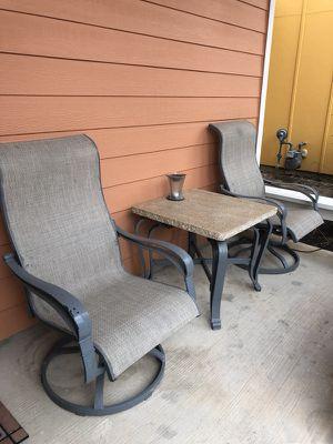 Heavy duty granite porch set for Sale in Austin, TX