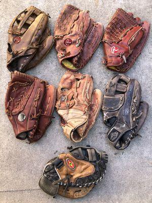 Softball gloves easton Rawlings demarini equipment bats for Sale in Culver City, CA