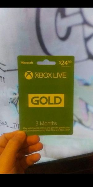 Xbox 3 Month Xbox Live for Sale in Taylor, MI