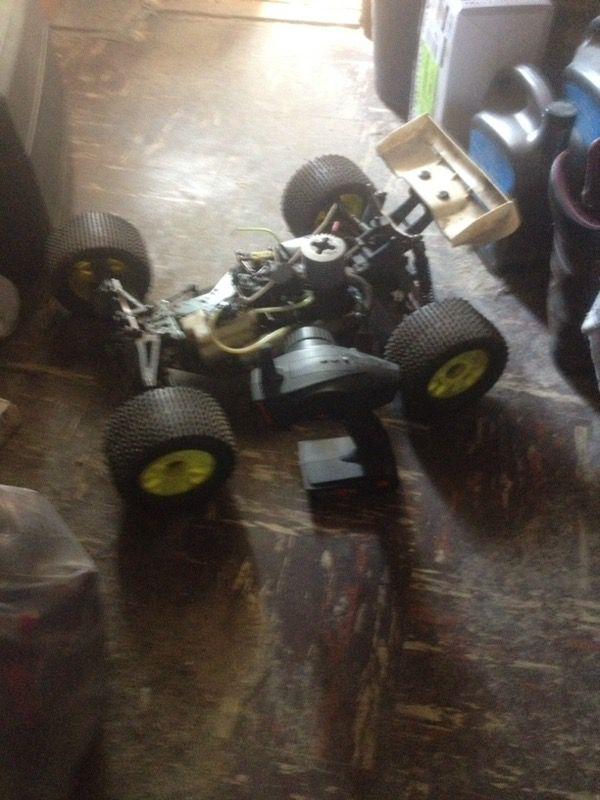 1/8 rc Nitro powered RC car