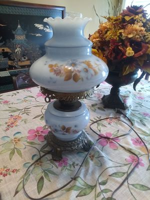 Antique pale blue lamp excellent condition for Sale in Murfreesboro, TN