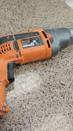 Rigid 8.5A Corded Drill for Sale in Chicago, IL