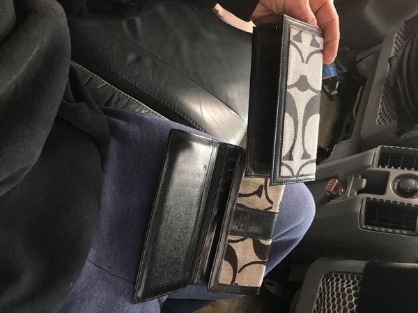 Women's coach wallet