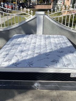 Brand new pillow top MATTRESSES ✅ COLCHONES NUEVOS PILLOW TOP 💯 for Sale in Hacienda Heights,  CA
