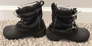 Toddler/Kids Cherokee Thermolite Black snow boots - Size 11/12 for Sale in Watauga, TX