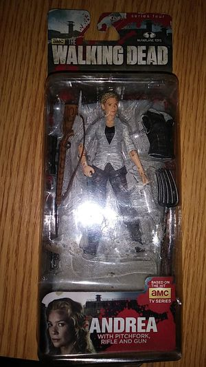 TWD Andrea action figure for Sale in Ruskin, FL
