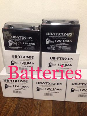 New Batteries for Sale in Houston, TX
