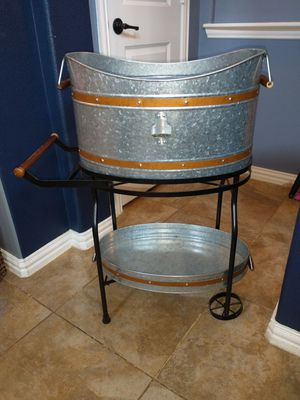 Beverage Cart/Drink Tub for Sale in Frisco, TX