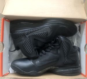 Nike Lebron 9 Triple Blackout Anthracite Sneakers Size 10.5 (2012) for Sale in UPPR MARLBORO, MD