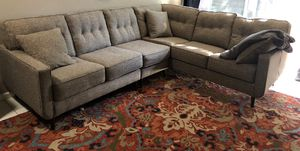 Jute Gray Ashley Furniture Sectional Couch for Sale in Phoenix, AZ
