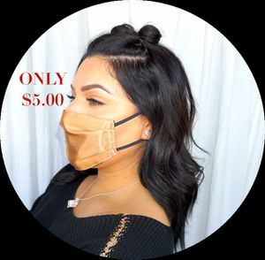 Beautiful Satin Face Masks for Women for Sale in Alhambra, CA