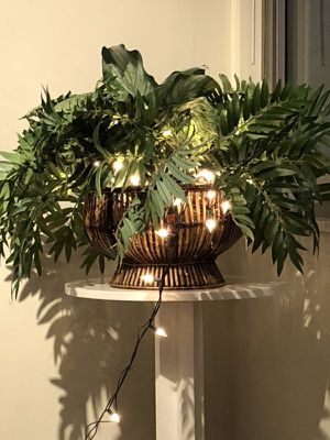 Indoor plant (fake) with lights for Sale in Washington, DC