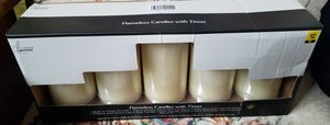 5 Vanilla Scented Flameless Candles with Timer NEW for Sale in McDonough, GA