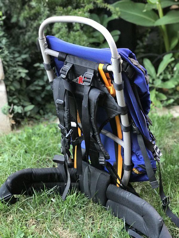 Dana Design K2 T-1 External Frame Blue Hiking Backpack