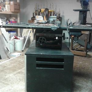 Sears Craftsman 10 inch contractor series table saw for Sale in Beverly, NJ
