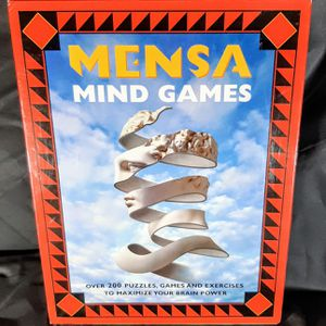 Mensa Mind Games Over 200 Puzzles, Games And Exercises New/Unfused in Box for Sale in Clarksville, IN