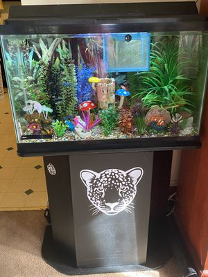 Fish tank with stand for Sale in Nanticoke, PA