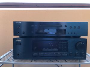 ONKYO C-7030 CD & TX-8211 FM Stereo & AMP Receiver AMP for Sale in La Mesa, CA