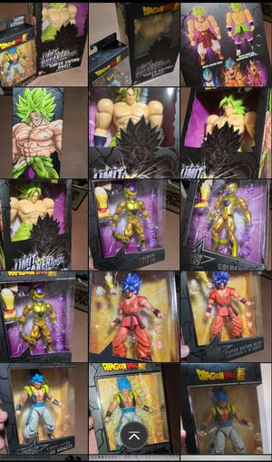 Dbz/DBS figures PRICE negotiable for Sale in Los Angeles, CA