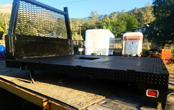 Super heavy duty short bed Truck flatbed