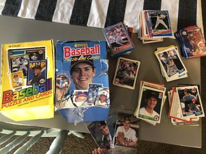 Late 80's early 90's baseball cards donruss (mostly some fleer and upper deck) cleaning out my closet for Sale in Camas, WA