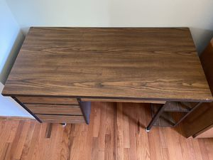 Study table - sturdy & heavy for Sale in Dublin, OH