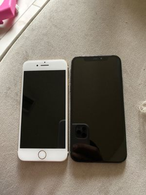IPhone 7 and iPhone X / with iCloud account for Sale in Phoenix, AZ
